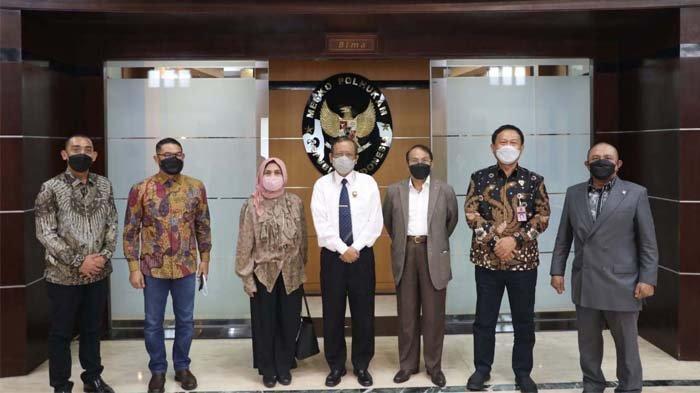 Diplomasi Lagu untuk Pilkada Aceh 2022, Politisi dan Tokoh Aceh Bertemu Mahfud MD