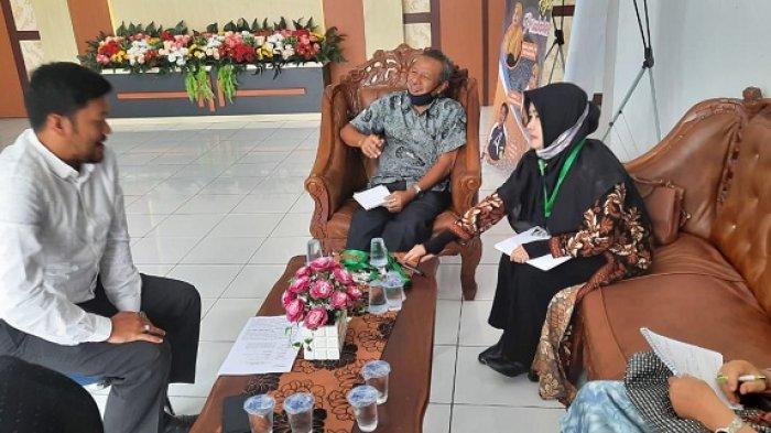 Peneliti Restorative Justice Working Group (RJWG) Kunjungi Mahkamah Syar'iyah Jantho, Ada Apa?