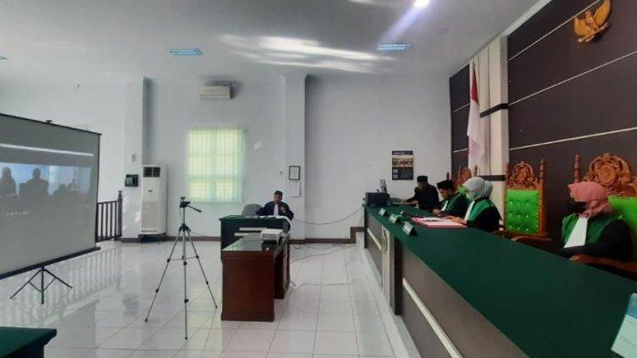 Sidang Game Chip Online Berlangsung Secara Virtual di Mahkamah Syar'iyah Jantho