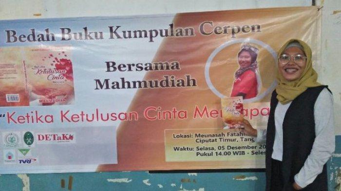Mahmudiah, Penulis Perempuan Aceh Luncurkan Buku Kumpulan Cerpen di Jakarta