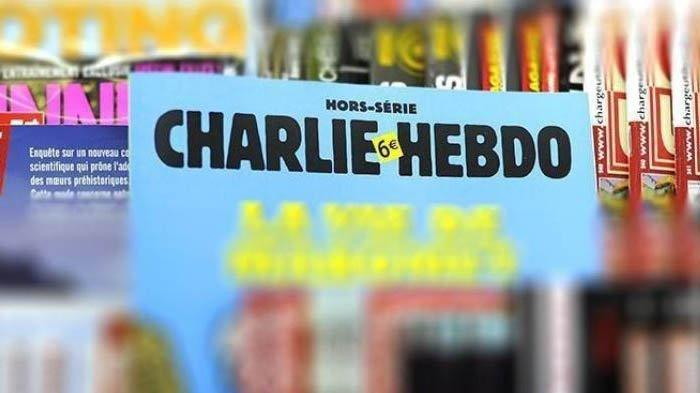 Majalah Charlie Hebdo Kembali Tuai Kritik Usai Buat Gambar Ratu Elizabeth II