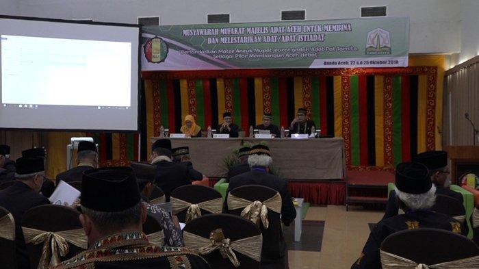 MAA Gelar Musyawarah Mufakat, Bahas Isu Adat dan Budaya Aceh Hingga Pilih Ketua Baru