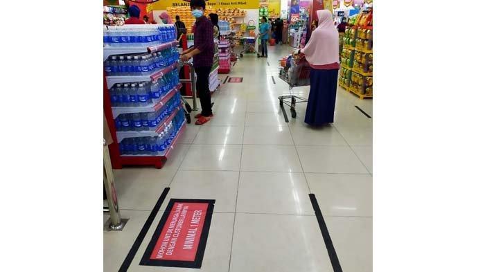 Antisipasi Virus Corona, Mal di Aceh Atur Jarak Setiap Antrian di Kasir