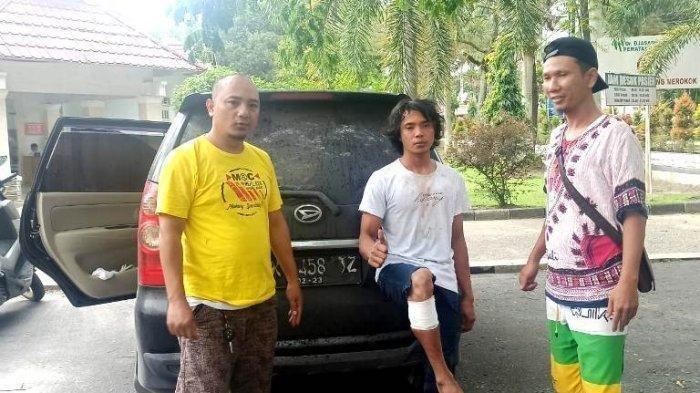 Pencuri Mobil di Siantar Ditembak Polisi, Disuruh Berpose Angkat Kaki Sambil Acungkan Jempol