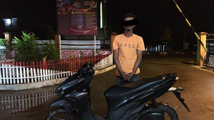 Bawa Kabur Sepmor Teman, Warga Aceh Utara Sembunyikan Barang Curian di Meunasah