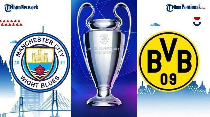 LIVE STREAMING Manchester City Vs Borussia Dortmund di Liga Champions Pukul 02.00 WIB