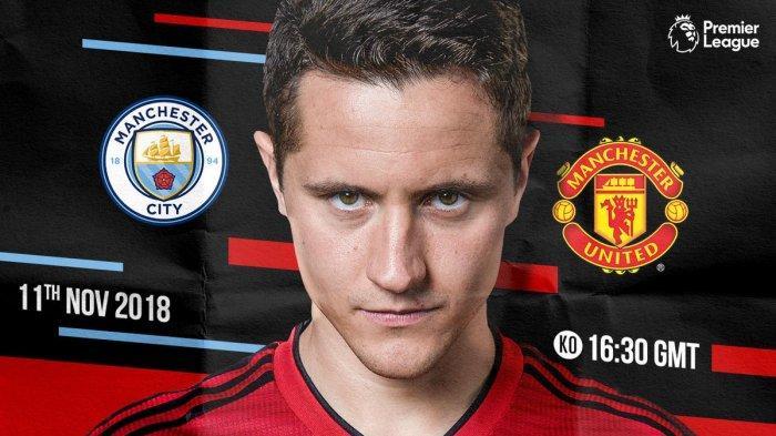 Link Live Streaming Manchester City vs Manchester United, Premier League di RCTI Pukul 23.30 WIB