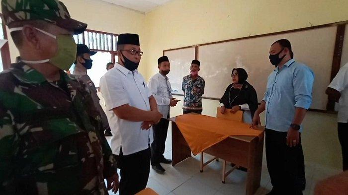 Dinas Pendidikan Aceh Pantau Persiapan PBM Tatap Muka untuk SMA di Aceh Selatan