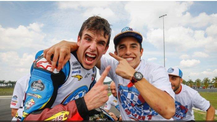 Tim Repsol Honda Percaya dengan Performa Alex Marquez