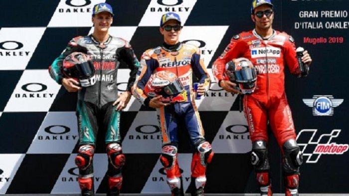 Link Live Streaming Trans7 MotoGP Italia, Marquez Start Pertama, Rossi Urutan 18, Pukul 19.00 WIB