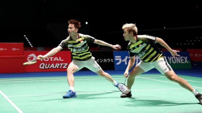 Denmark Open 2018 - Marcus/Kevin Menang dan Melaju ke Babak Kedua Usai Singkirkan Wakil China