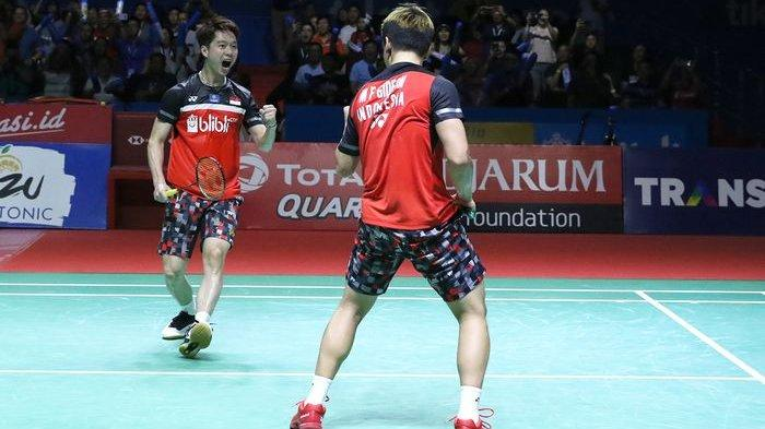 Hasil Lengkap Japan Open 2019, Marcus/Kevin dan 7 Wakil Indonesia Lainnya Melaju ke Perempat Final