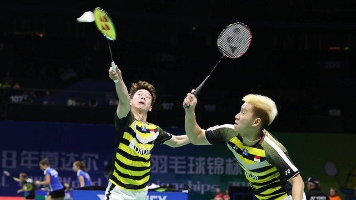 Link Live Streaming Semifinal Malaysia Masters 2019 - Marcus/Kevin Vs Goh/Tan Main Sekarang