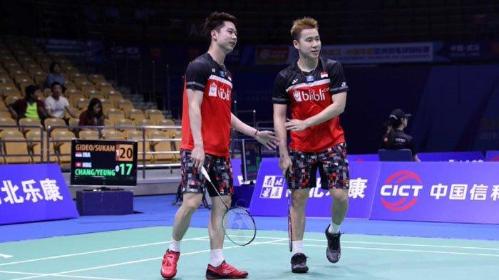 Live Streaming QF Badminton Asia Championships 2019 - Menanti Marcus/Kevin Stop Kekalahan Beruntun