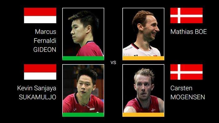 Babak Kedua Hong Kong Open 2018 - Marcus/Kevin Jumpa Boe/Mogensen, Anthony Ginting Vs Jonatan Lagi