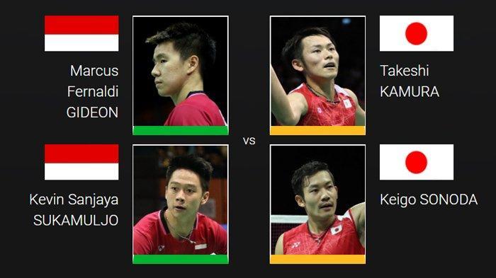 Rekor Pertemuan Indonesia Vs Jepang di Piala Sudirman, Merah Putih tak Pernah Kalah