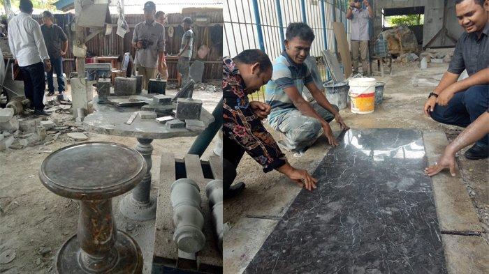 Siap-siap, Poltas dan Disnakermobduk Akan Latih Masyarakat untuk Produksi Souvenir dari Marmer