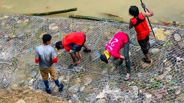 BPBD Pidie Plot Dana Rp 3,2 Miliar untuk Pembangunan Bronjong di Kecamatan Pidie dan Mila