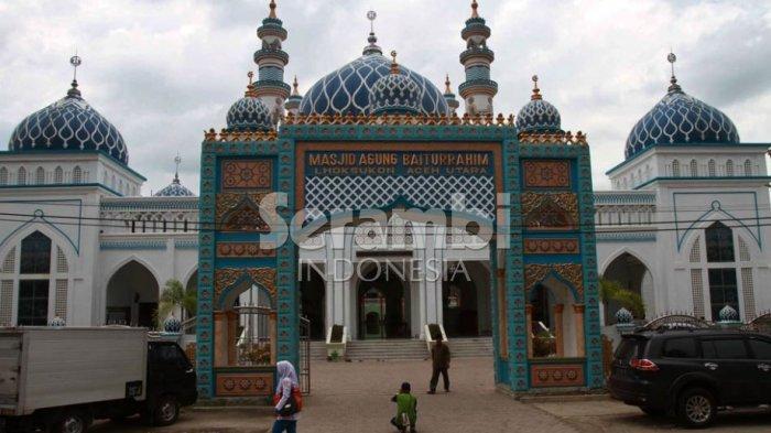 Ini Khatib dan Imam Shalat Hari Raya Idul Adha 1442 H di Masjid Agung Baiturrahim Lhoksukon