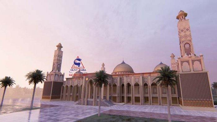 Masjid Agung Abdya Dibangun Lagi