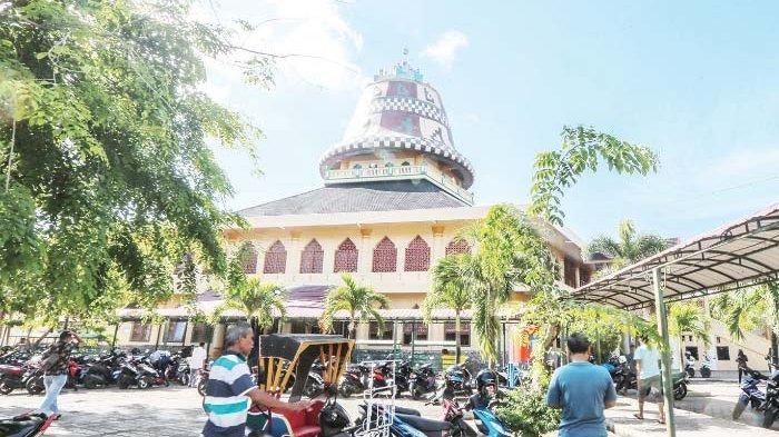 Masjid Baitul Musyahadah, Berdenah Segi Lima sebagai Gambaran Rukun Islam