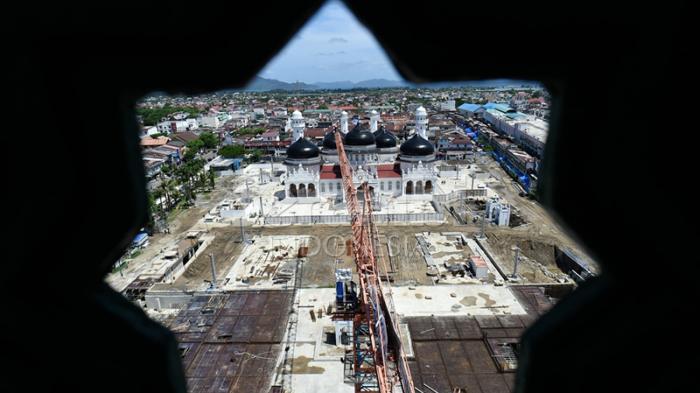 Masjid Raya Baiturrahman Diusul jadi Warisan Dunia
