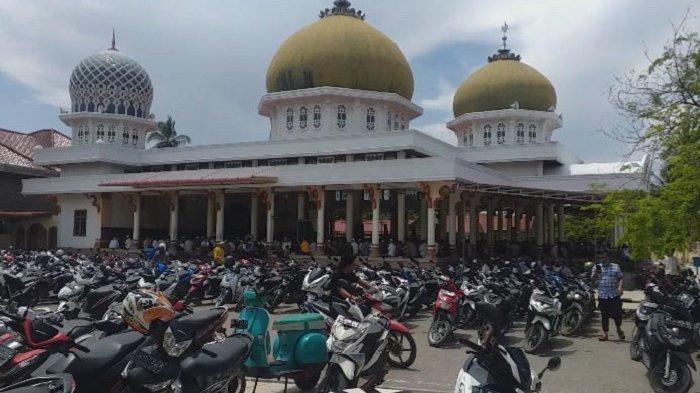 Masjid Ridha Jeumpa Dibangun Tahun 1960, Dulunya Konstruksi Kayu, Kini Miliki Arsitektur Megah