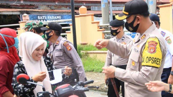 Cegah Penyebaran Covid-19, Personel Polres Subulussalam Jaga Lokasi Wisata