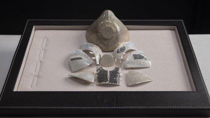 Perusahaan Perhiasan Israel Produksi Masker Termahal di Dunia, Berbahan Emas dan Bertabur Berlian