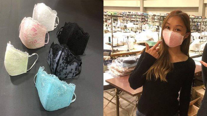 Sempat Viral dan Dianggap Lelucon, Kini Masker Bra Berenda Terjual Laris di Jepang