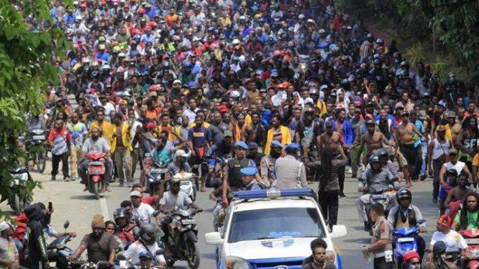 Demo di Sorong Papua Barat, Massa Rusak Fasilitas Bandara Domine Eduard Osok