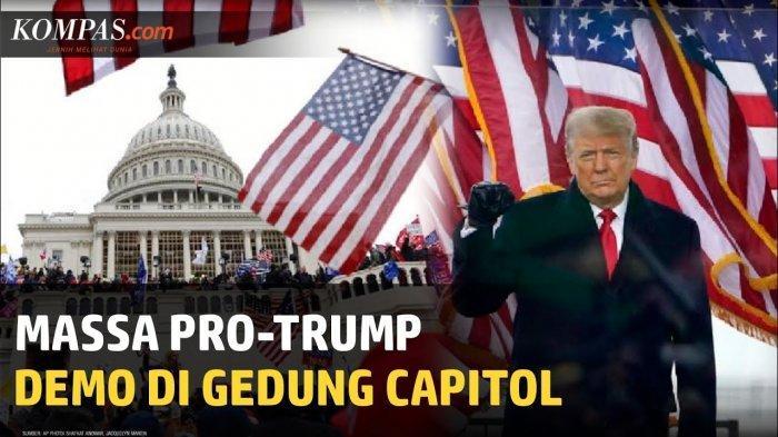 Kerusuhan Demo Amerika Serikat Tewaskan 1 Orang, Ramai Kecam Donald Trump Termasuk Barack Obama
