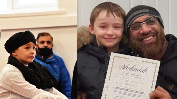 Masya Allah, Minta Izin ke Ibunya untuk Masuk Islam, Bocah 9 Tahun Ini Akhrinya Mengucap Syahadat