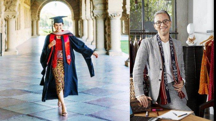 Lulus S2 dari Standford University, Maudy Ayunda Kenakan Kebaya Kutubaru Rancangan Didiet Maulana