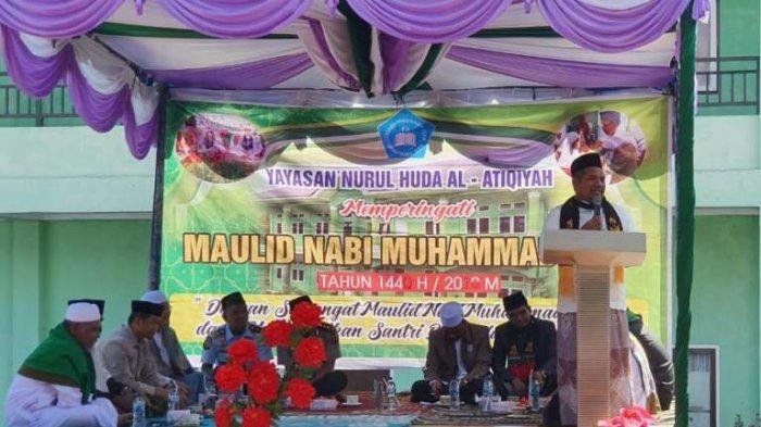 Bupati Bener Meriah Tgk H Sarkawi Hadiri Maulid di Dayah Nurul Huda Al- Atiqiyah, Ini Pesannya
