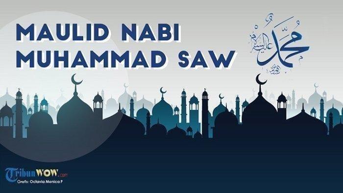 Hari Ini, Peringatan Maulid Nabi Muhammad SAW, Ini Kumpulan Ucapan dalam Bahasa Indonesia & Inggris