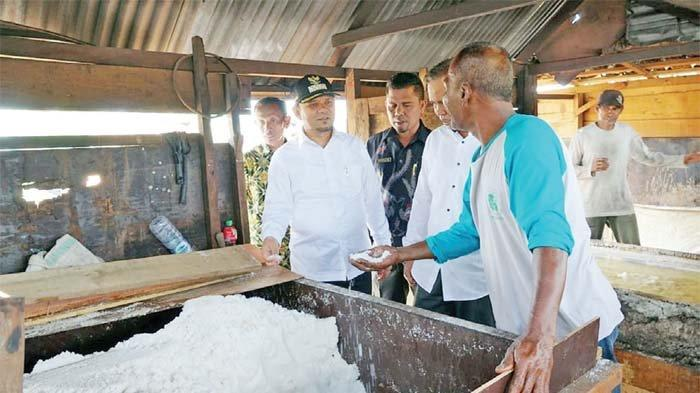 Aceh Besar Punya Garam Berkualitas