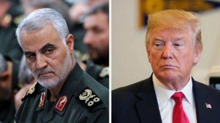Jelang Peringatan Meninggalnya Qassem Soleimani,AS & Iran Saling Tuduh Tingkatkan Aktivitas Militer