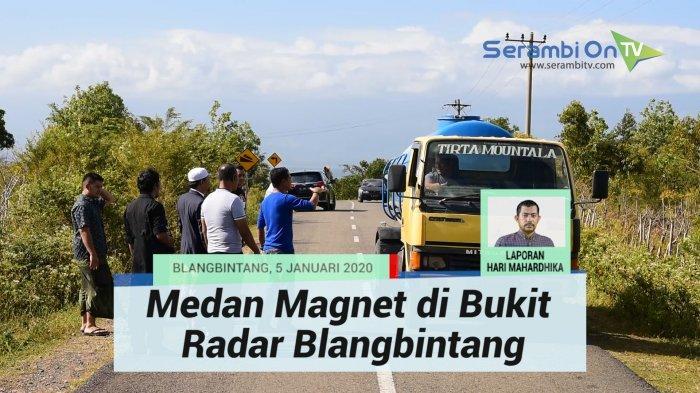 Mendadak Lokasi Diduga Medan Magnet di Bukit Radar Aceh Besar Ramai Dikunjungi Warga