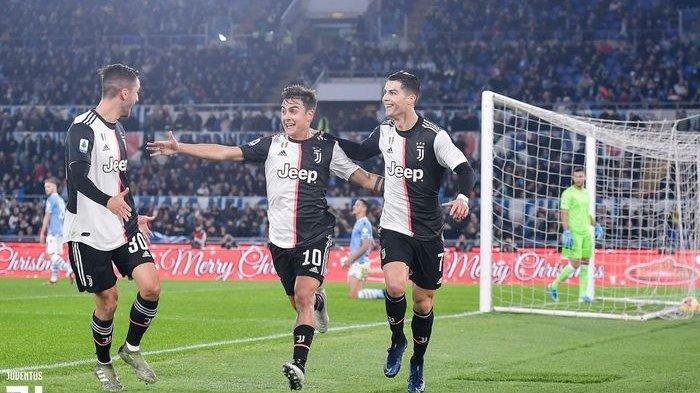 Hasil dan Klasemen Liga Italia, Juventus Dibantai Lazio, Inter Milan Ditahan Imbang AS Roma