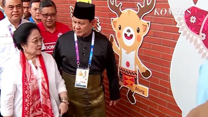 Prabowo Bercanda Soal Ibu Presiden Republik Indonesia, Megawati: Suka Lupa Sih