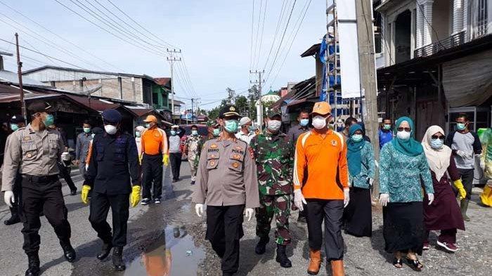Peringatan Hari Peduli Sampah di Nagan Raya Gotong Royong Cegah Covid-19