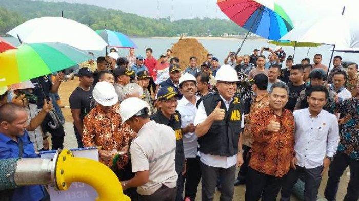 Plt Gubernur Aceh Resmikan Ekspor CPO Perdana ke India Lewat Pelabuhan Calang
