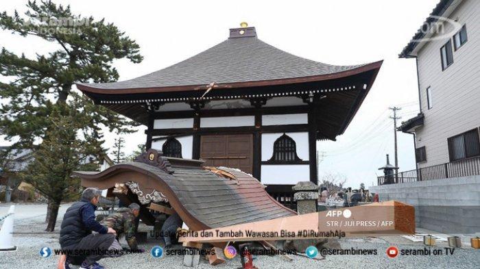 FOTO - Kondisi Terkini Fukushima Jepang, Setelah Diguncang Gempa Berkekuatan 7.1 Magnitudo - melihat-kerusakan.jpg