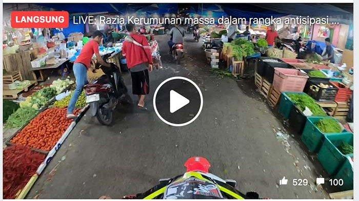 Video Siaran Langsung Petugas Gabungan Sisir Kota Banda Aceh Petugas Kewalahan Bubarkan Warga Serambi Indonesia