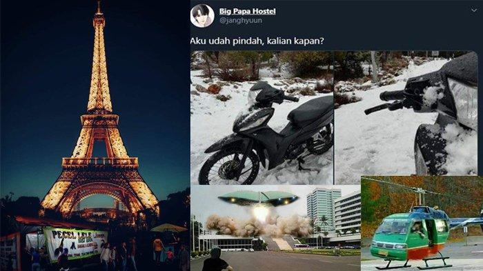 Meme Pindah Negara Ramaikan Jagat Medsos, Begini Cara Warganet Protes UU Cipta Kerja