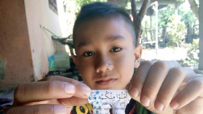 Mercon Bertulis Ayat Quran Ditemukan Lagi di Aceh Utara