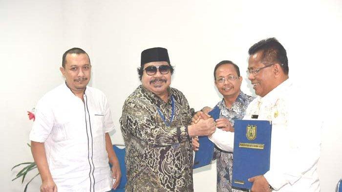 Pemko Banda Aceh dan Serambi Indonesia Jalin Kerja Sama, Ditandai dengan Penandatanganan MoU