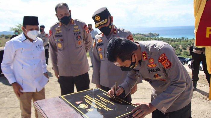 Kapolda Aceh Resmikan Pusat Latihan Satbrimob Polda Aceh di Bukit Soeharto