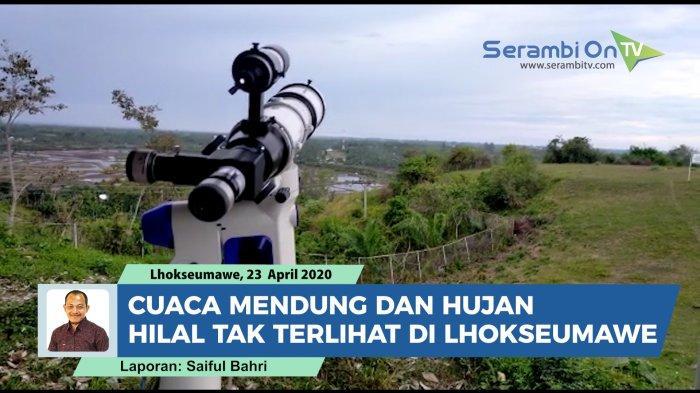 Pengamatan Hilal di Aceh Tertutup Awan, Sidang Itsbat Tetapkan 1 Ramadhan Jatuh pada Selasa Besok